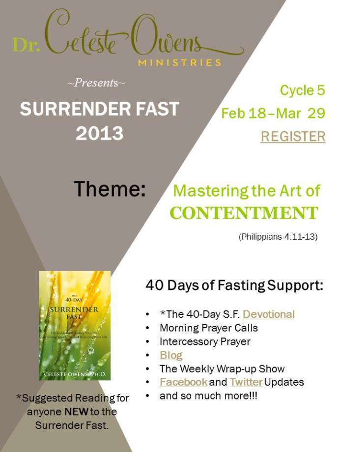 Surrender Fast - Lent