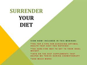 Surrender Your Diet - Slide Flyer